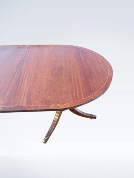 12ft-Long-Narrow-antique-Regency-Pedestal-Dining-Table-34-P2