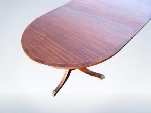 12ft-Long-Narrow-antique-Regency-Pedestal-Dining-Table-34-P4