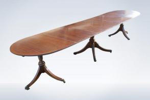 12ft-Long-Narrow-antique-Regency-Pedestal-Dining-Table-34-P5