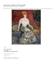 Modern Art Evening Sale1
